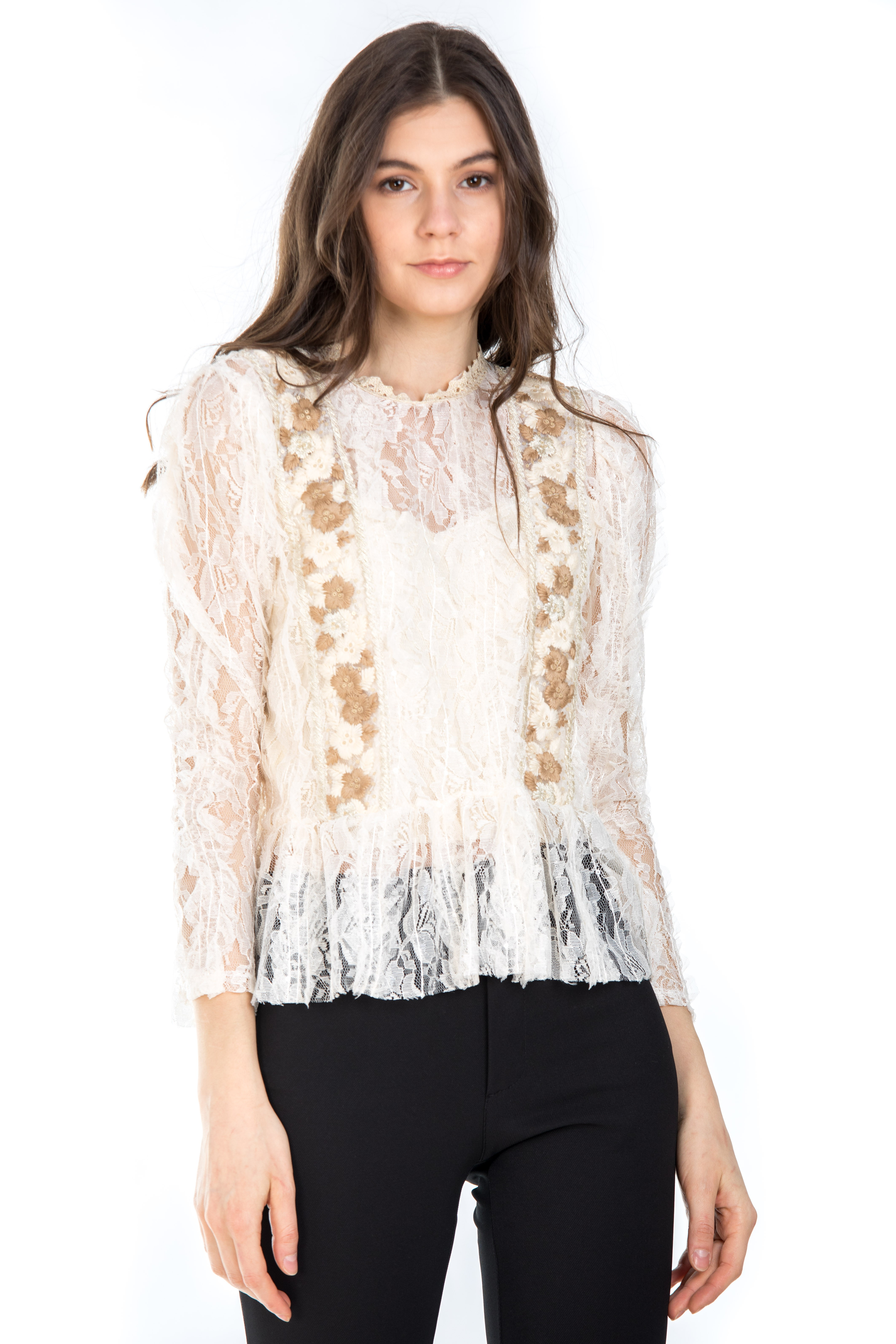 BLUZA BRODERIE AURIE 0